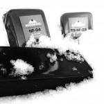 『 乾雪+PM2.5等による雪の汚れ 』 対策