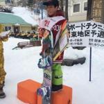 ☆全日本スノーボードテクニカル選手権関東予選☆